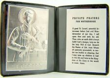 St Gerard Prayer for Motherhood Catholic Motorist Pocket Protection Pray Folder