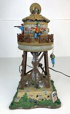 Lemax Spooky Town Deadwood Water Tower #84765 ~ Halloween Village Cowboy Western