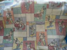 Cool Mickey Mouse Twin Blanket Chatham Thermal Acrylic Bedding Vintage 58x84