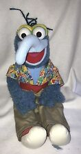 =Eden Toys Jim Henson Muppets GONZO DOLL Large 22 inch Stuffed Collectible