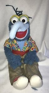 =Eden Toys Jim Henson Muppets GONZO DOLL Large 22 inch Stuffed Collectible 1995