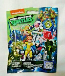 Toy Teenage Mutant Ninja Turtles Mega Bloks Blind Bags Series 3 TMNT