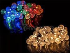 Plastic Solar Modern Outdoor Lanterns & Strings