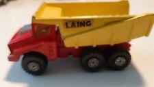 Matchbox/Lesney SuperKings K4-D4 Big Tipper Red/Yellow LAING 1973