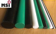 PE Polyethylen Rundstab D 8-100mm L=1000 mm weiß natur schwarz grün Stab Stange