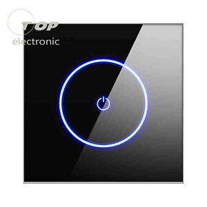 WIFI Smart Wall Touch Switch Wireless Remote Voice Control For Alexa Google