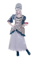 Women's French Queen Marie Antoinette Ghost Costume - Size Medium (8-10)