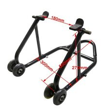 Motorcycle Racing Front Rear Tire Lift Stand Tool Fork Paddock Race Lift Jack AU