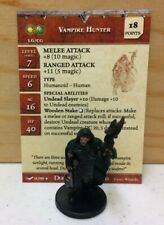 Dungeons & Dragons Miniatures - Vampire Hunter Promo with Card