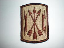 US ARMY SOLDIERS MEDIA CENTER PATCH - DESERT