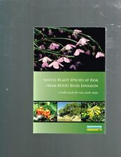 Native Plant Species At Risk From Bitou Bush Invasion: A Field Guide For NSW
