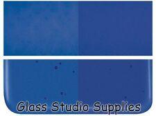 Bullseye Deep Royal Blue Transparent Kiln Fusing Glass 90coe 1114-30