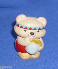 Hallmark Thanksgiving Merry Miniatures Bear with Honey Pot 1993 With Gold Seal
