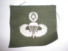 Us Army 1960'S Master Parachutist Badge - Color