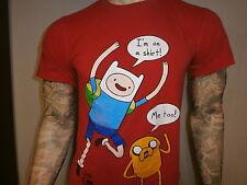 ADVENTURE TIME WITH FINN & JAKE T SHIRT Cartoon Network I'M ON A SHIRT... ME TOO