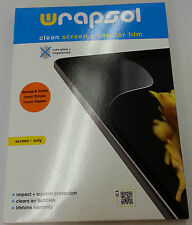 WRAPSOL CUMPBN002-SO Clean Screen Protective Film For NOOK SIMPLE, NEW in Box