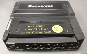 Vintage Panasonic AG-720 VCR Video Cassette Recorder 12v Police VHS Car Dash Cam