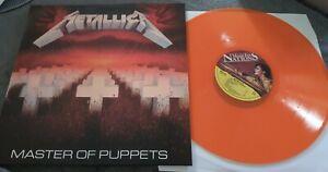 Metallica 'Master of Puppets' LP 1986 Color Vinyl