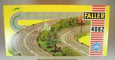 Slot Car Faller AMS Nr.4082 Autobahn Mittelstreifen gebogen 8 Stück OVP #108