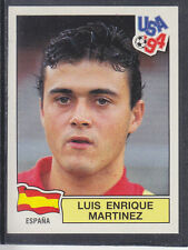 PANINI-USA 94 WORLD CUP - # 193 Luis Enrique-España (Green Retro)