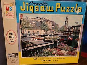 "SEALED 1965 Coventry jigsaw puzzle 500 piece SPRINGTIME BEAUTY 20x14"" USA #4906"
