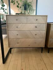 Ercol Monza 4184POBK Five Drawer Chest  - FREE DELIVERY