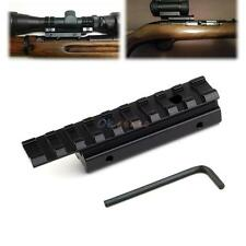 Tactical 11mm Dovetail to 20mm Sight Scope Mount Weaver Picatinny Rail Adapter