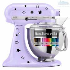 12x Sterne Aufkleber Kitchenaid kitchen aid ~ Backen Küchenmaschine star Sticker