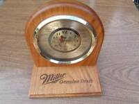 MILLER MGD LORD KING QUARTZ WORLD TIME ZONE CLOCK VINTAGE MOVING JET *4 PARTS F9