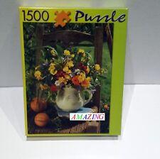 COLOURFUL BOUQUET - 1500 PIECE PHOTOGRAPHIC JIGSAW PUZZLE - NEW  / RARE