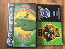 Sega Saturn:    SEGA WORLDWIDE SOCCER 98      PAL EUR