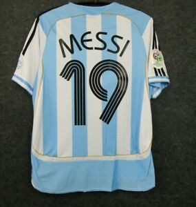 argentina messi 2006 retro soccer jersey vintage football shirt classic