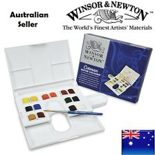 Winsor and Newton Cotman Water Colours Watercolour The Compact Set 14 Half Pan