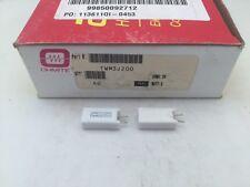 (10 pcs) TWM3J200 Ohmite, 3 Watt 200 Ohm 5%, Ceramic Housed Power Resistor