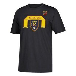 "Real Salt Lake MLS Black ""Bender"" Team Graphic 60/40 Short Sleeve T-Shirt"
