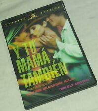 Y Tu Mama Tambien Dvd Alfonso Cuarón