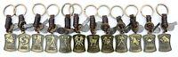 AuPra Zodiac Leather Keyring Gift Idea Horoscope Key Chain Ring woman man