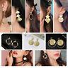 Fashion Statement Metal Geometric For Women Boho Dangle Earrings Modern Jewelry~