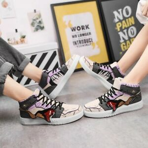 NARUTO SNEAKERS ANIME SHOES PAIN SIX COSPLAY MEN WOMEN CASUAL SHOES BREATHABLE