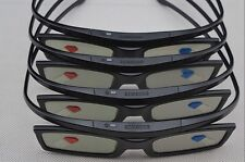 4 x SAMSUNG 3D Active Shutter Glasses SSG-5100GB 2011 12 13 14 2015 TV LED