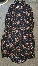 Ladies BNWT Button Down Floral Dress Size 14