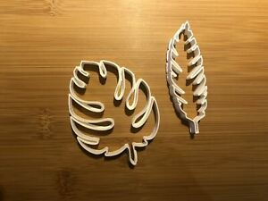 Leaf leaves jungle Biscuit Cookie Cutter Fondant Cake Decorating Mold