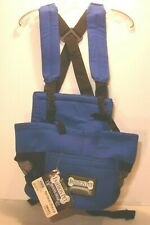 Fashion Pet Travel Gear Dog Cat Pet Front Carrier Pouch Backpack / Blue / Small