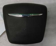 2011-2014 CHRYSLER 200 LEFT DRIVER SIDE STEERING WHEEL AIRBAG AIR-BAG BLACK OEM