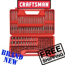 *New* CRAFTSMAN 208 Piece Screwdriver Bit Set Torx Hex Security Slotted Phillips