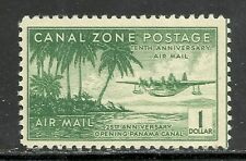 U.S. Possession Canal Zone Airmail stamp scott c20 - $1.00 issue of 1939 mng