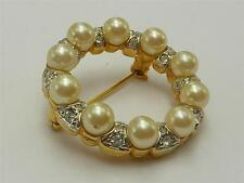 Pearl Gold Vintage Costume Jewellery (1970s)
