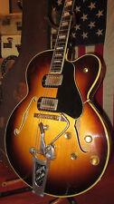Vintage 1957 Gibson Byrdland Arch Top Electric Guitar w/ B Bender Bigsby OHSC