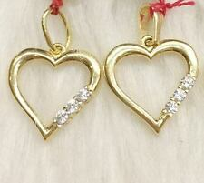 SOLID 18K Japan Gold Pendant -   Gold Heart - 1.1 grm (1 pc only)