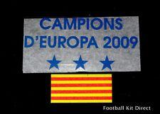 UFFICIALE Barcellona 2009 CAMPIONS D EUROPA Maglietta Da Calcio Patch/Badge UCL via
